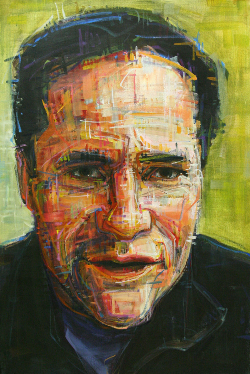 painted portrait of Matt Zaffino