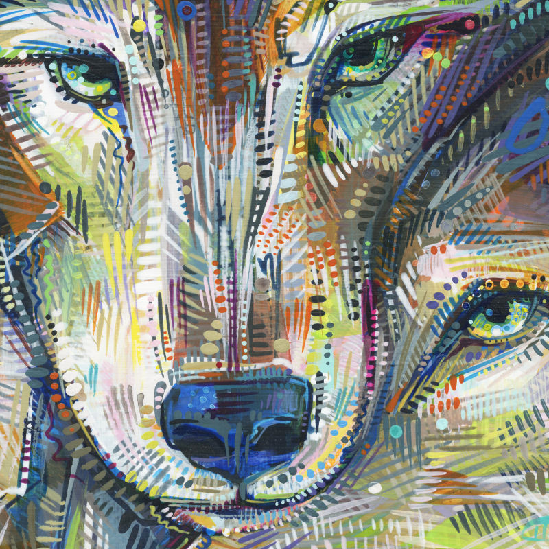 wildlife painting by Gwenn Seemel