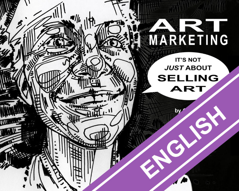 Art Marketing, digital book by Gwenn Seemel that explains why you nedd to get good at talking about your art