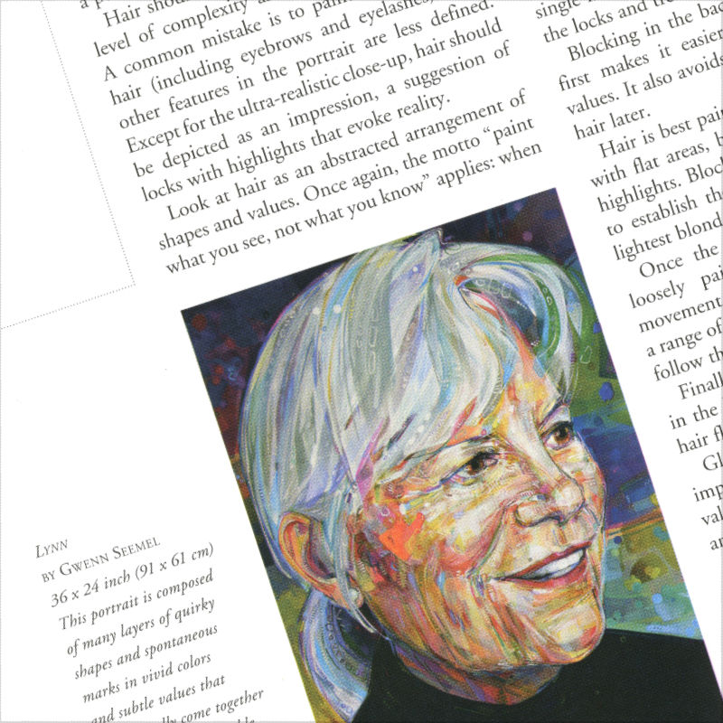Painting in Acrylics: The Indispensable Guide, book by Lorena Kloosterboer featuring Gwenn Seemel's art