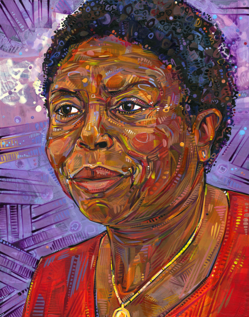 Deloris, portrait by Gwenn Seemel