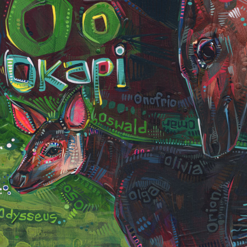 okapi painting