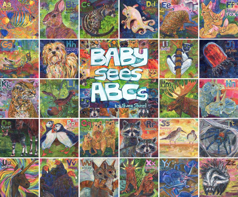 ABC book illustrations by Gwenn Seemel
