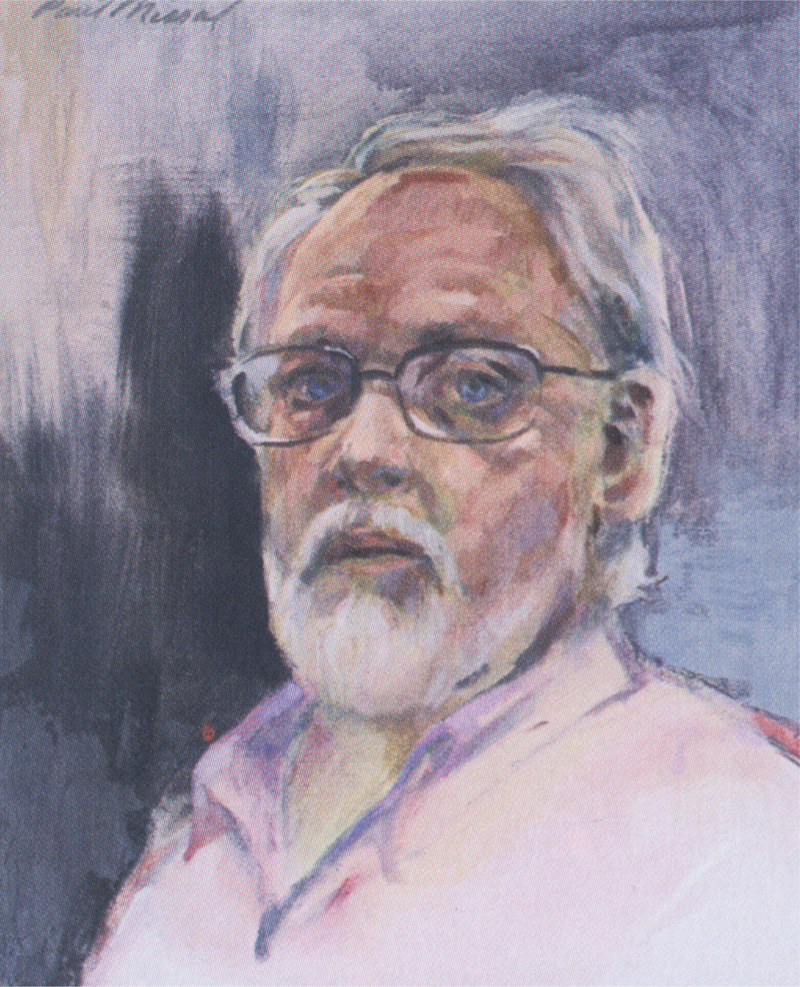 Oregon artist Paul Missal's Self Portrait 2004