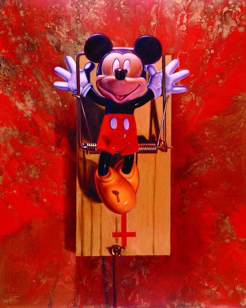 Ron English Mousetrap