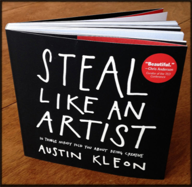 Austin Kleon's hypocritical book
